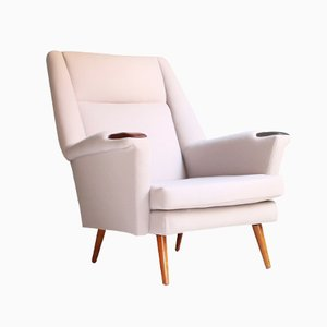 Danish Armchair with Sustainable Upholstery