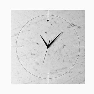 Horloge Murale Quadrondo par Paolo Ulian et Moreno Ratti