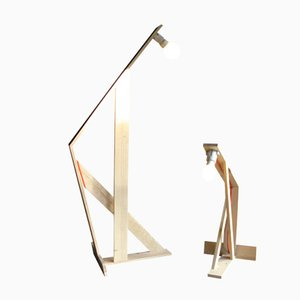 Pallet Stehlampen von Nina Tolstrup, 2er Set