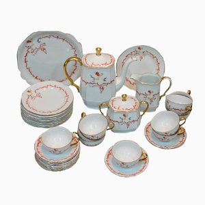 Czech Art Deco Coffee and Dessert Service from Epiag