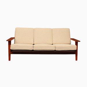 GE290 Teak Sofa by Hans J. Wegner for Getama, 1960s
