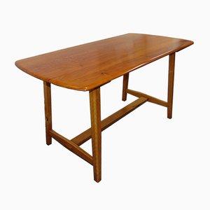 Esstisch aus Ulmenholz von Ercol, 1950er