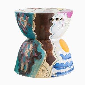 Ceramic Stool by Reinaldo Sanguino