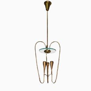 Lampe en Laiton par Pietro Chiesa pour Fontana Arte