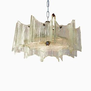 Ice Glass Chandelier from J.T. Kalmar