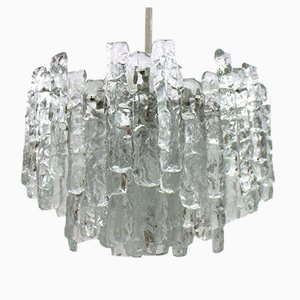 Glass Chandelier by J. T. Kalmar for Kalmar, 1960