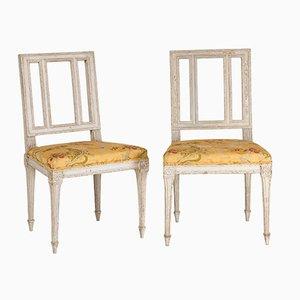 Antique Louis XVI Period Chairs, Set Of 2
