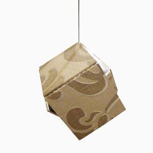 Lampe à Suspension en Soie par Harry Thaler pour Swing Gallery