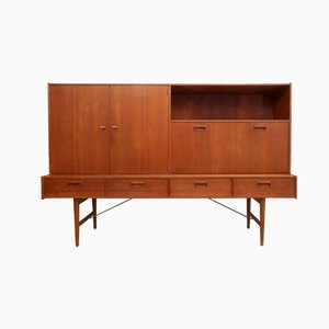 Teak Modulus Highboard from Fristho Franeker