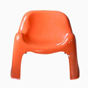 Toga Chair by Sergio Mazza for Artemide, 1970s