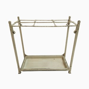French Wrought Iron Umbrella Stand, 1930s