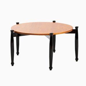 Tavolino da caffè moderno con gambe ebonizzate, Italia