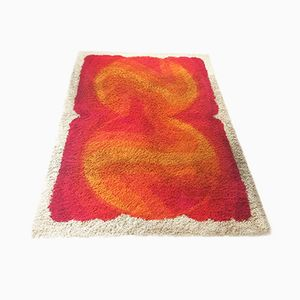 High Pile Rya Rug from Desso, 1970s