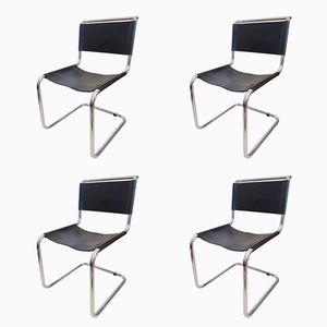 Chaises Modèle B33 par Marcel Breuer, 1980s, Set de 4