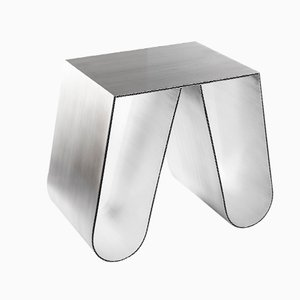 Table d'Appoint No Cardboard en Aluminium par Philipp Käfer