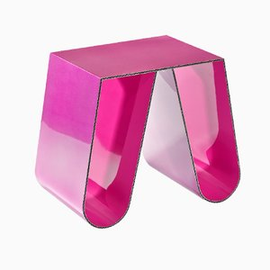Table d'Appoint No Cardboard Rose Métallisé par Philipp Käfer