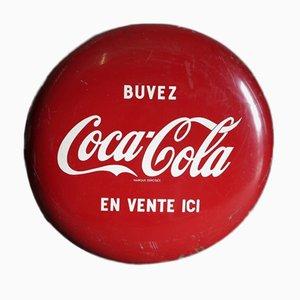 Panneau Publicitaire Coca Cola en forme de Capsule