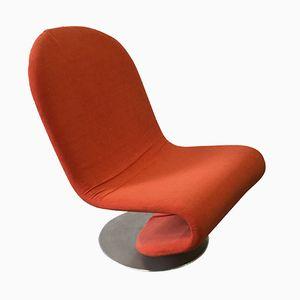Aluminum Stuhl von Verner Panton für Fritz Hansen