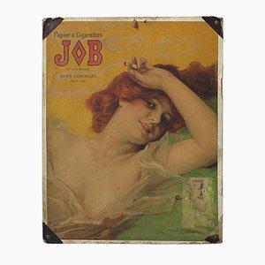 Art Nouveau Cardboard Advertisement by Daniel Hernandez, 1889