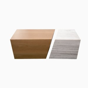 Composition in Marble and Wood by Maria Vidali