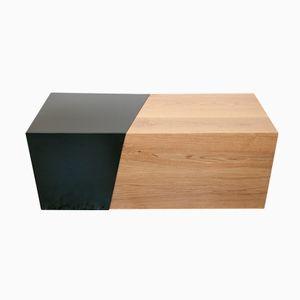 Compisizione in metallo e legno di Maria Vidali