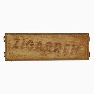 Cigar Advertising Sign, 1930s