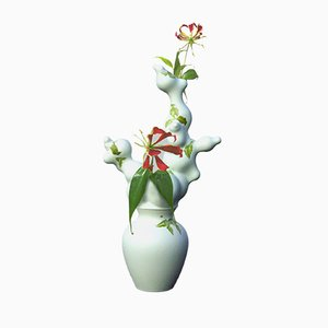 Green Blossoms Vase Without Holes by Studio Wieki Somers, 2005