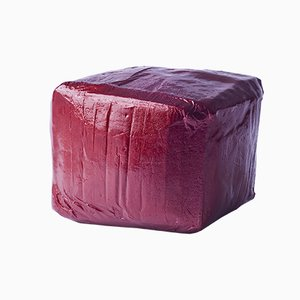 Pouf rosso - Made in China, Copied by the Dutch di Studio Wieki Somers, 2007