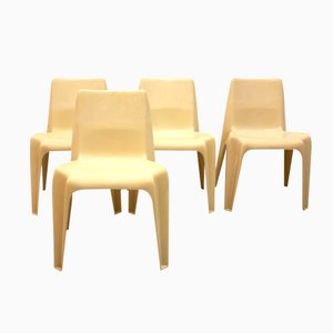 BA 1171 Chairs by Helmut Bätzner for Bofinger, Set of 4