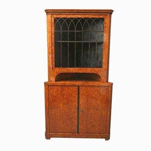 Biedermeier Corner Cupboard 1820