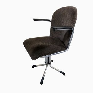 356 Corduroy Desk Chair from Gispen