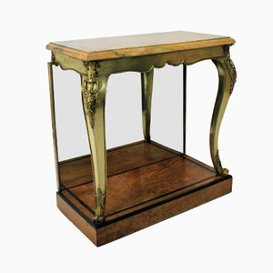Antique British Gilt Bronze Console Table