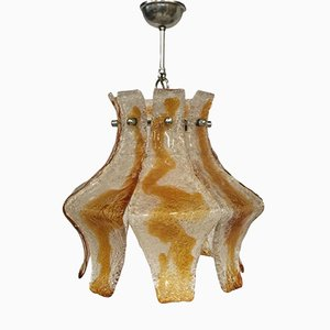 Italian Murano Hanging Lamp from Mazzega