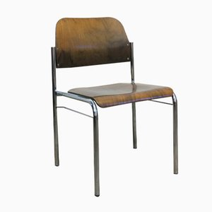 Stackable Scandinavian Vintage Chair