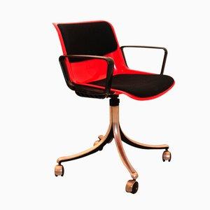 Chaise de Bureau de Osvaldo Borsani pour Tecno, Italie, 1970s