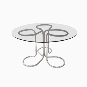 Italian Dining Table by Giotto Stoppino, 1970s