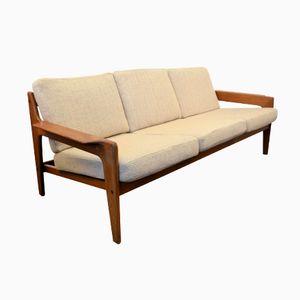 Canapé Vintage avec Structure en Teck par Arne Wahl Iversen pour Komfort, Danemark