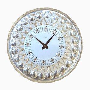Horloge Murale en Cristal pour Joska, 1960s