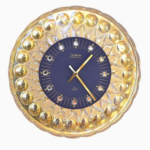 Glass Wall Clock for Joska, 1960s