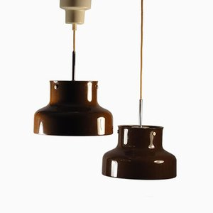 Bumling Ceiling Lamps Small Version by Anders Pehrson for Ateljié Lyktan, 1970, Set of 2
