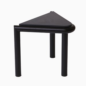Black Troika Stool or Side Table by Vonnegut / Kraft