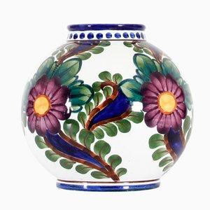 Kugelförmige Dänische Vase aus Keramik von Harald Slott-Moeller, 1905