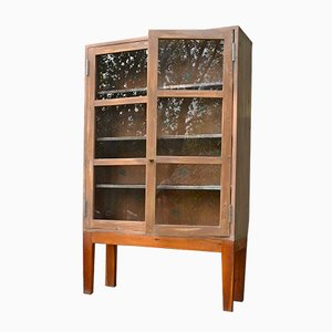 Swedish Glass Fronted Cabinet