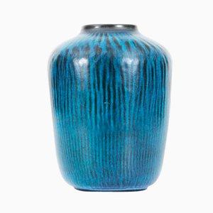 Vase, Modèle 5078, Turquoise par Gunnar Nylund pour Nymolle, 1950s