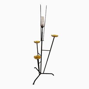 Stehlampe mit Aschenbechern, Spanien