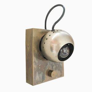 Eye Wall Lamp by Angelo Lelli for Arredoluce, 1963