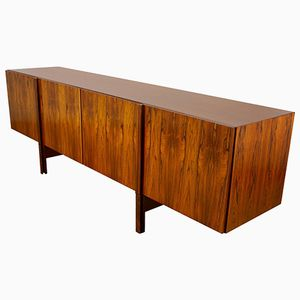 Long Rosewood Sideboard by Ib Kofod-Larsen for Faarup Mobelfabrik, 1960s