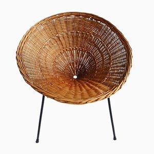 Italian Rattan Garden Chair