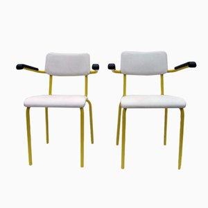 Niederländische Industrielle Stühle von Ahrend de Cirkel, 1970er, 2er Set