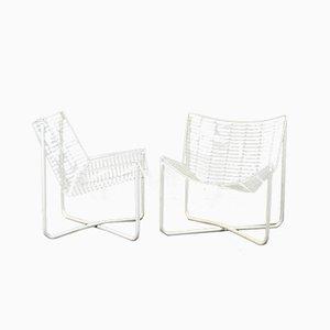 Beistellstühle aus Metalldraht von Niels Gammergar für Ikea, 1983, 2er Set